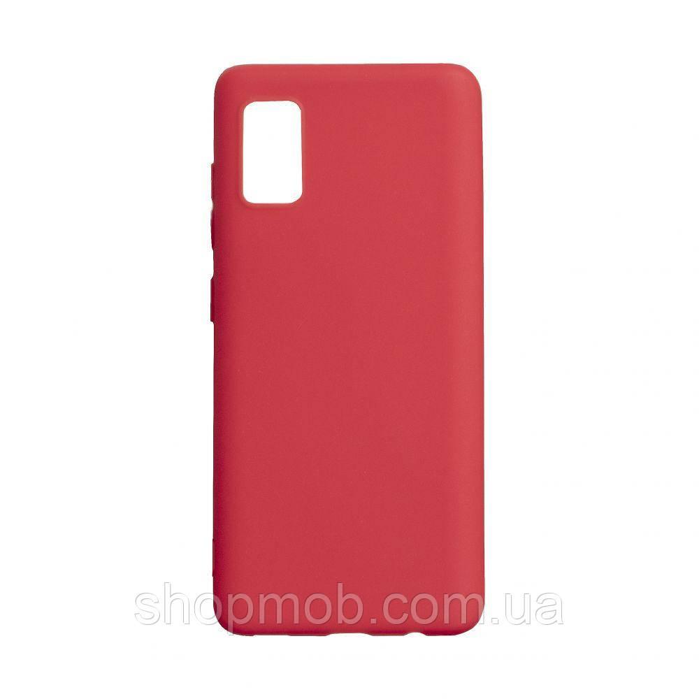 Чехол SMTT Samsung A41 2020 Цвет Красный
