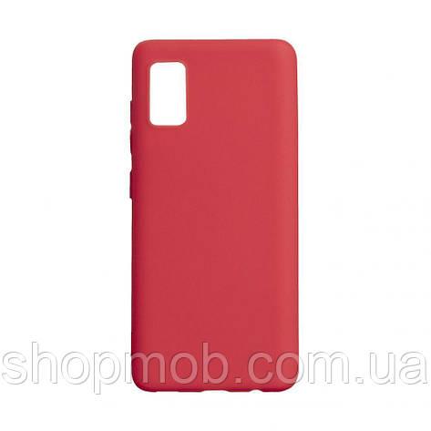 Чехол SMTT Samsung A41 2020 Цвет Красный, фото 2