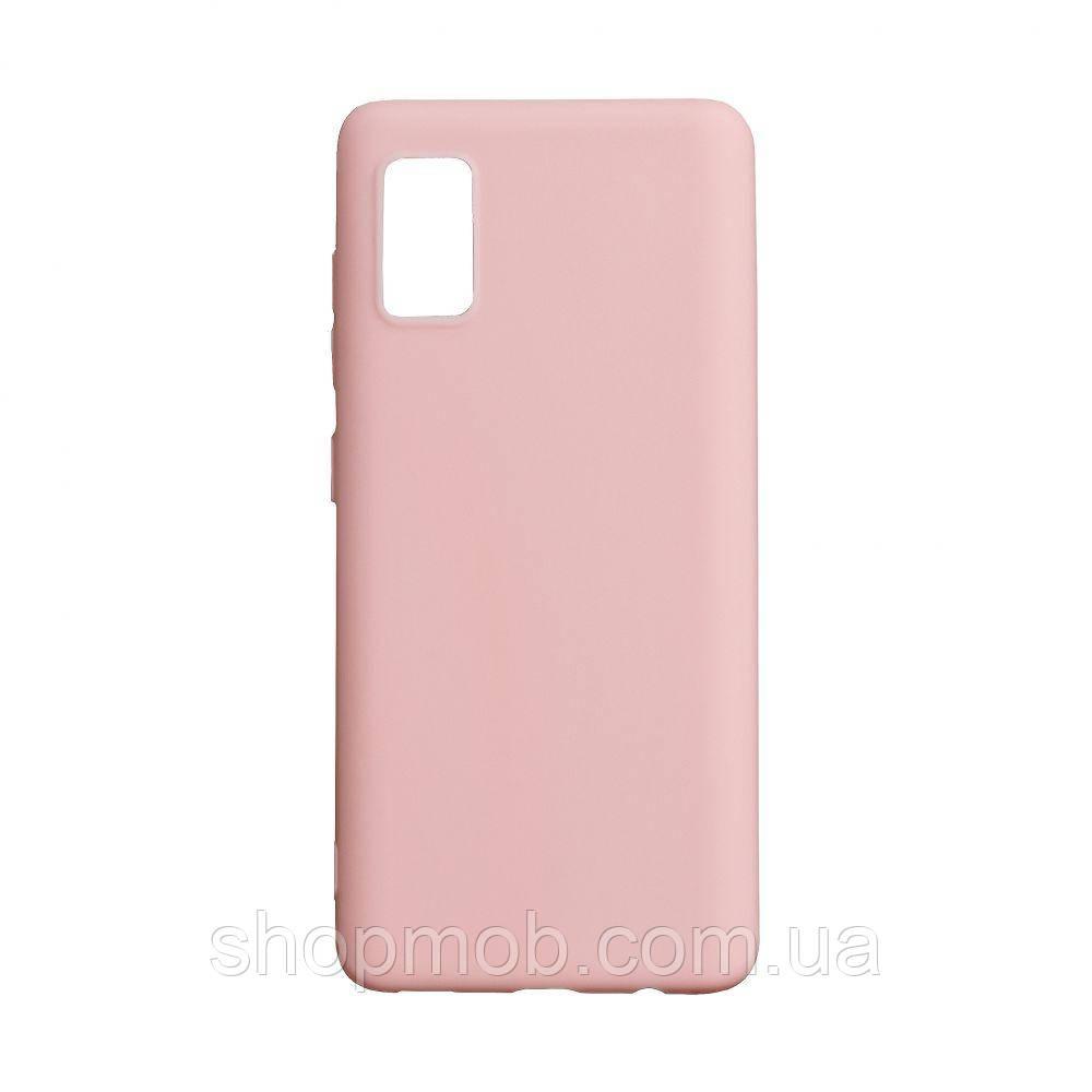 Чехол SMTT Samsung A41 2020 Цвет Розовый