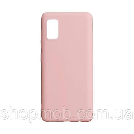 Чехол SMTT Samsung A41 2020 Цвет Розовый, фото 2