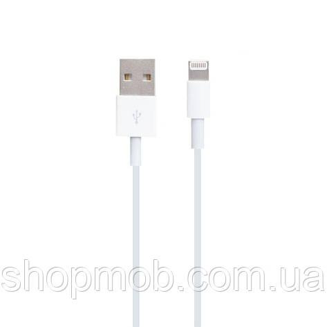 USB кабель для зарядки Iphone X Lightning Original (Foxconn) Цвет Белый, фото 2