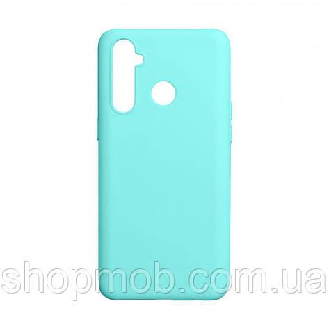Чехол SMTT Realme 5 Pro Цвет Бирюзовый, фото 2
