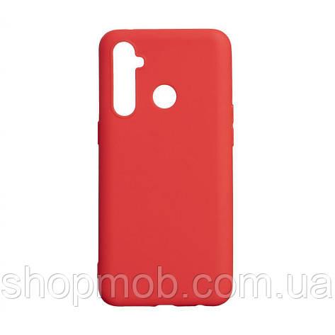 Чехол SMTT Realme 5 Pro Цвет Красный, фото 2