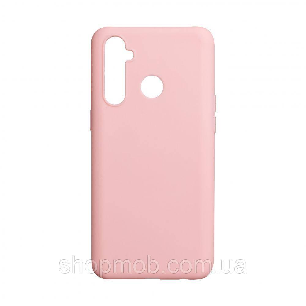 Чехол SMTT Realme 5 Pro Цвет Розовый