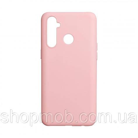 Чехол SMTT Realme 5 Pro Цвет Розовый, фото 2