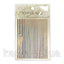 Гибкая лента Joyful Nail, золото