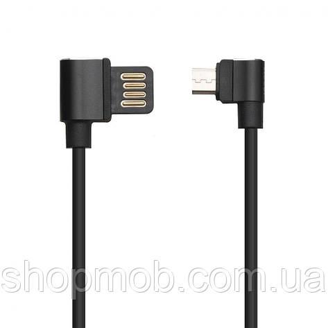 USB кабель для зарядки Hoco U37 Long Roam Micro 1.2m Цвет Чёрный, фото 2