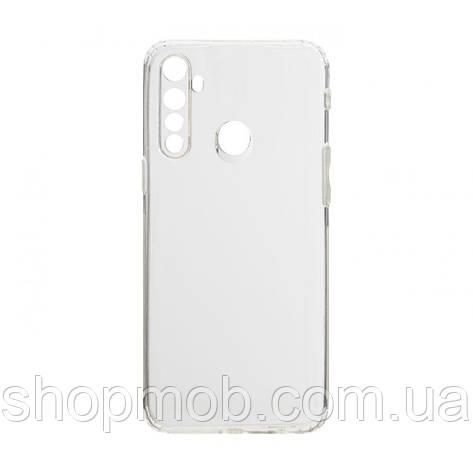 Чехол накладка для смартфонов (силикон прозрачные) KST for Realme 5/6i Цвет Прозрачный, фото 2