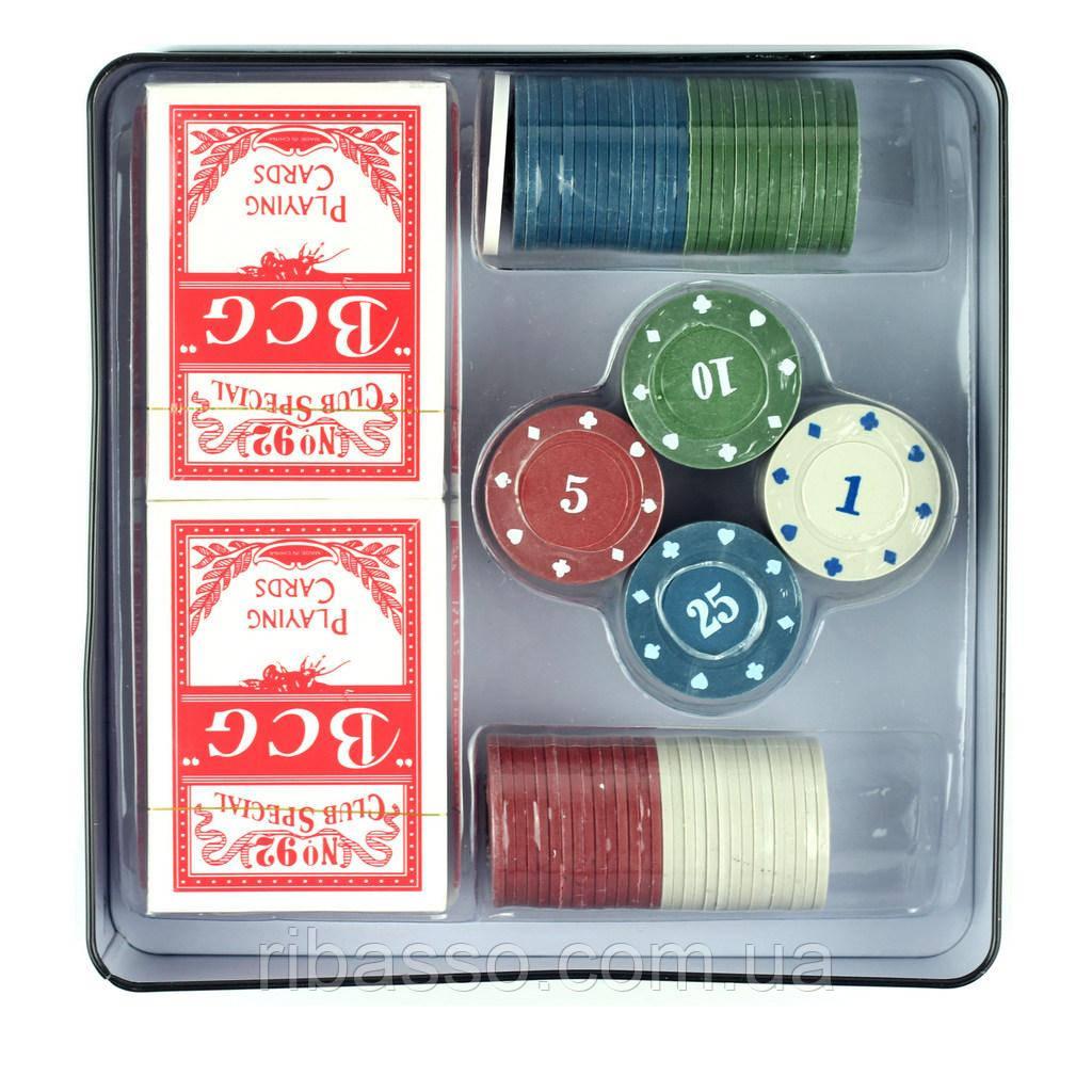 Ningbo Evergreen Фишки для покера 100 шт