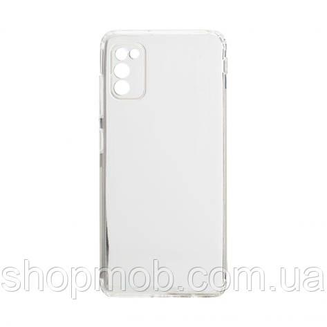 Чехол накладка для смартфонов (силикон прозрачные) KST for Samsung A41 2020 Цвет Прозрачный, фото 2