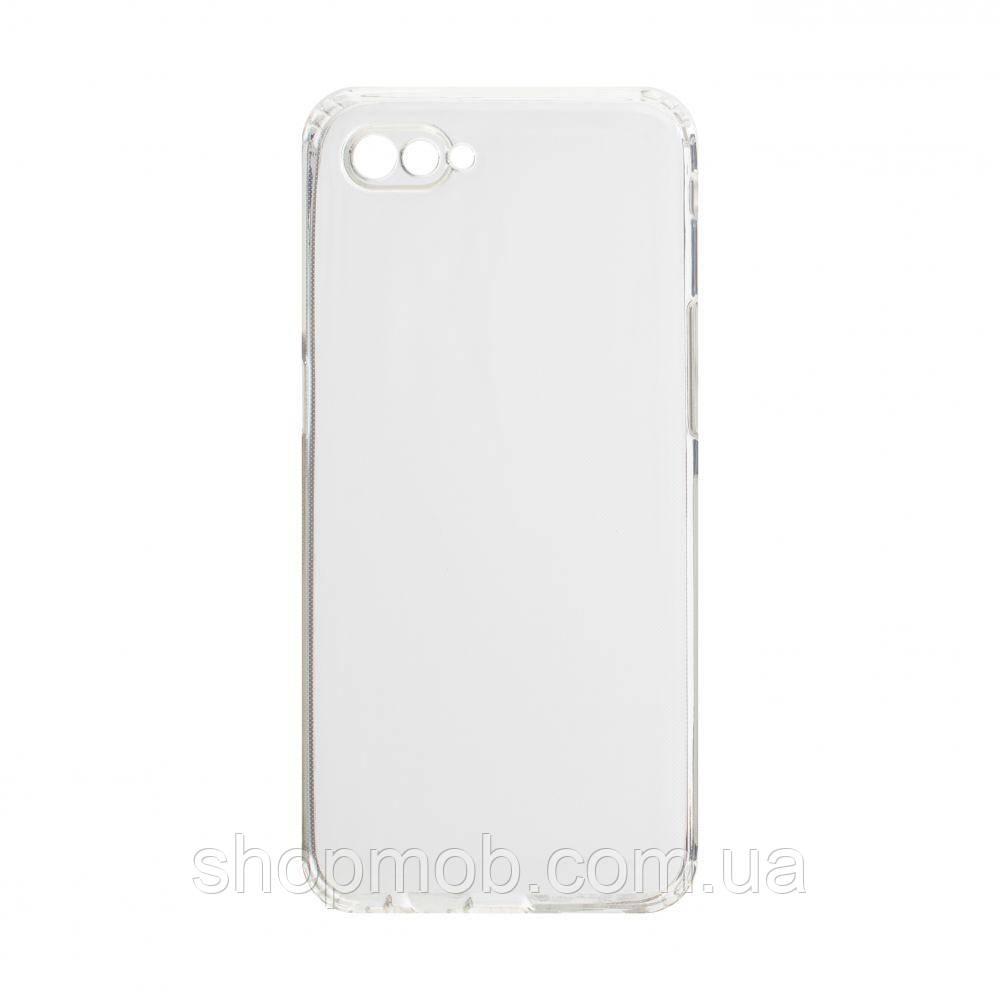 Чехол накладка для смартфонов (силикон прозрачные) KST for Realme C2 Цвет Прозрачный