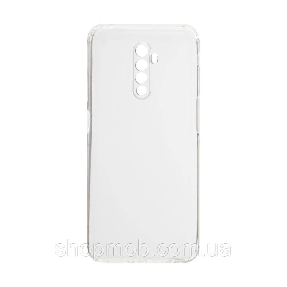 Чехол накладка для смартфонов (силикон прозрачные) KST for Realme X2 Pro Цвет Прозрачный