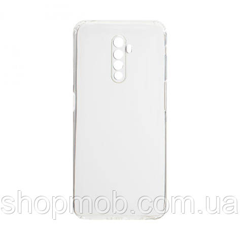 Чехол накладка для смартфонов (силикон прозрачные) KST for Realme X2 Pro Цвет Прозрачный, фото 2