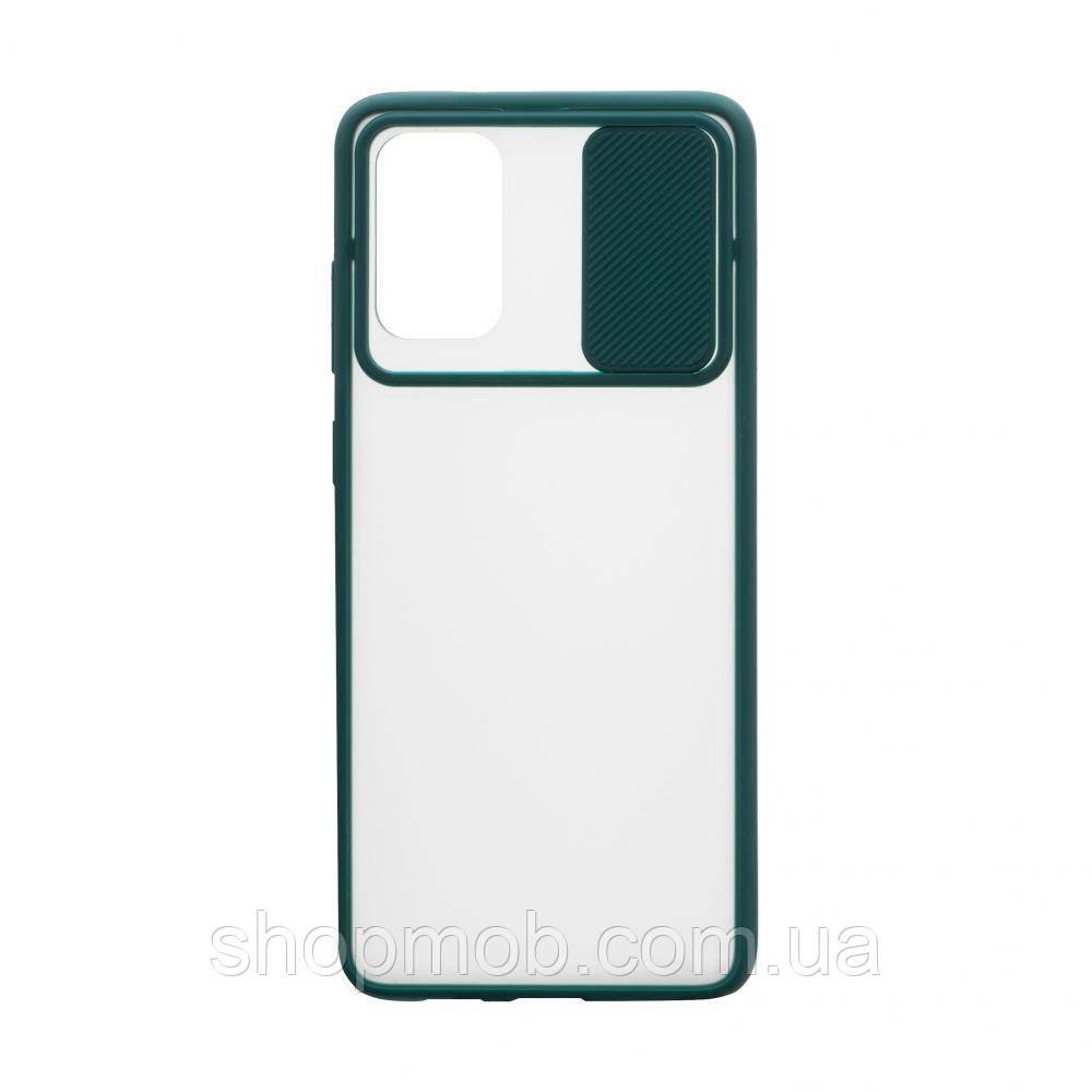 Чехол Totu curtain for Samsung S20 Plus 2020 Цвет Зелёный