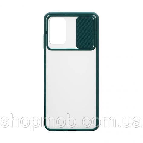 Чехол Totu curtain for Samsung S20 Plus 2020 Цвет Зелёный, фото 2
