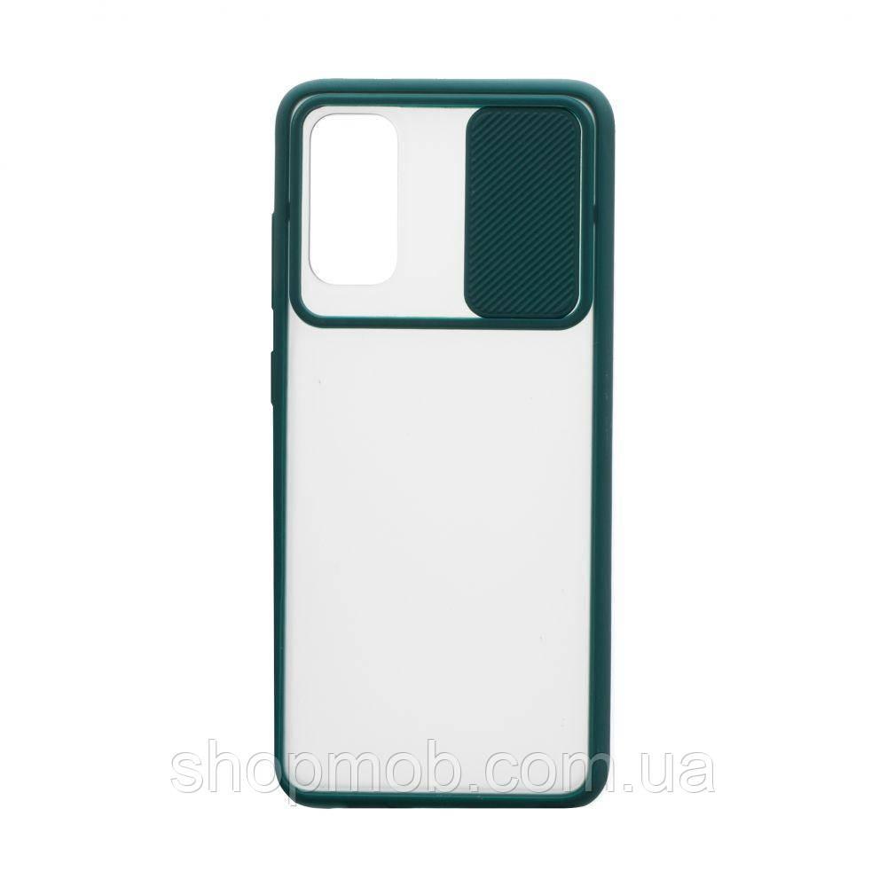 Чехол Totu curtain for Samsung S20 2020 Цвет Зелёный