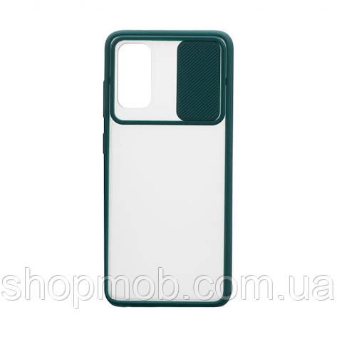 Чехол Totu curtain for Samsung S20 2020 Цвет Зелёный, фото 2