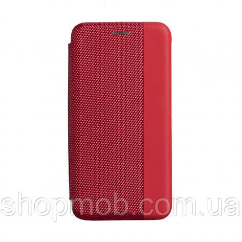 Чехол-книжка Strip color for Huawei P40 Цвет Красный, фото 2