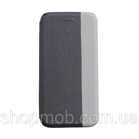 Чехол-книжка Strip color for Samsung A11 Цвет Серый, фото 2
