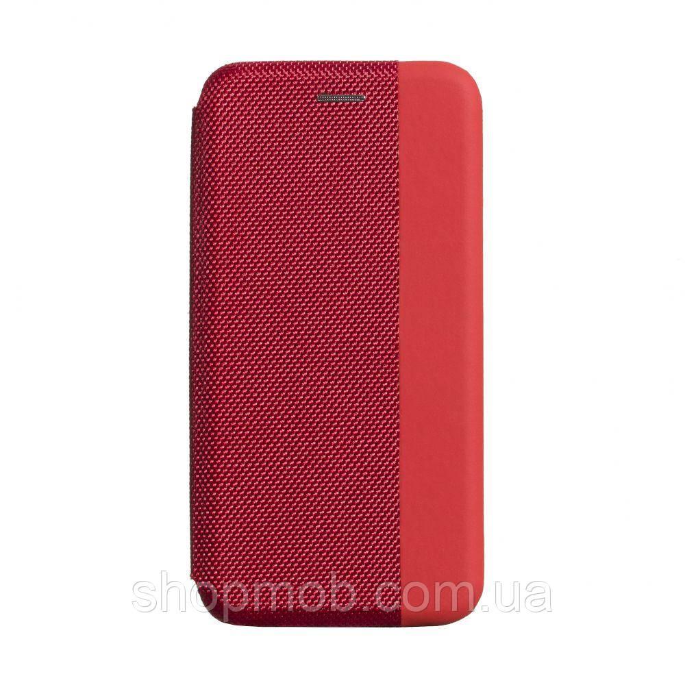 Чехол-книжка Strip color for Samsung A51 Цвет Красный