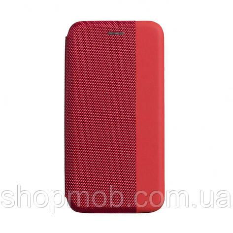 Чехол-книжка Strip color for Samsung A51 Цвет Красный, фото 2