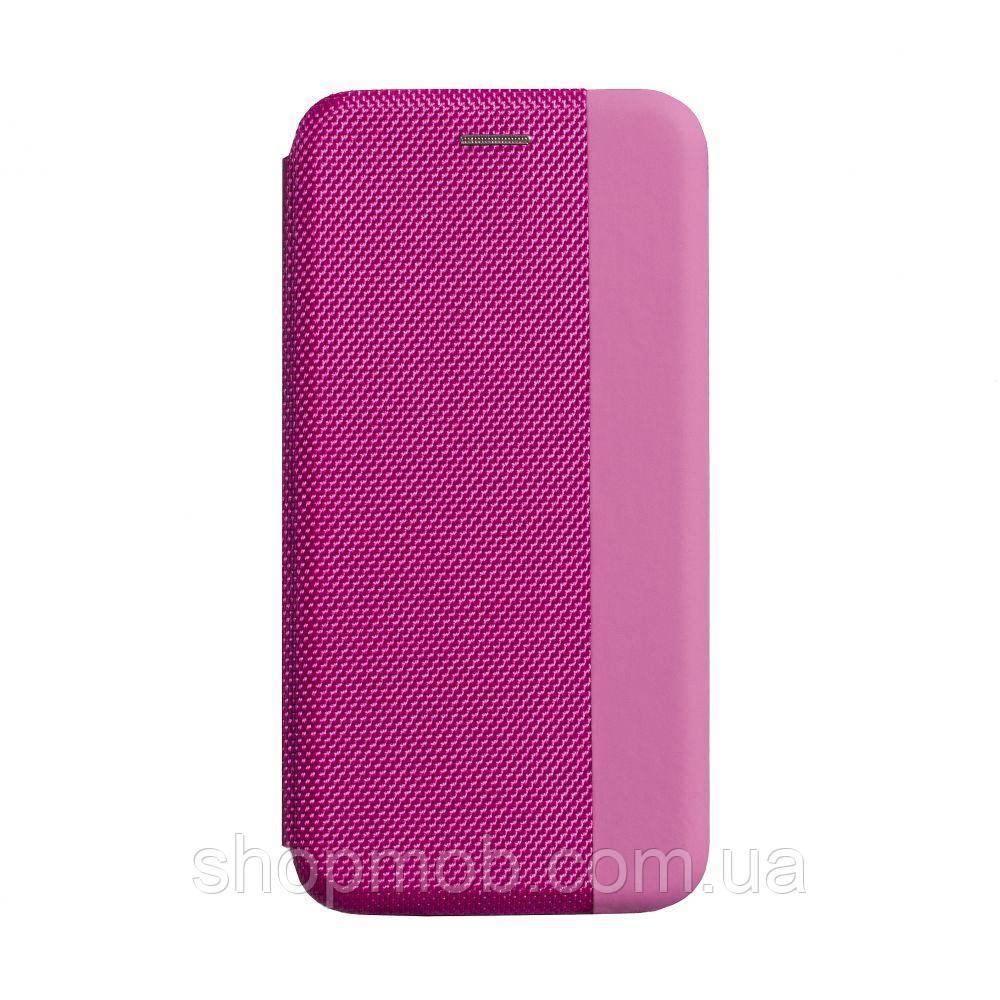 Чехол-книжка Strip color for Samsung A51 Цвет Розовый