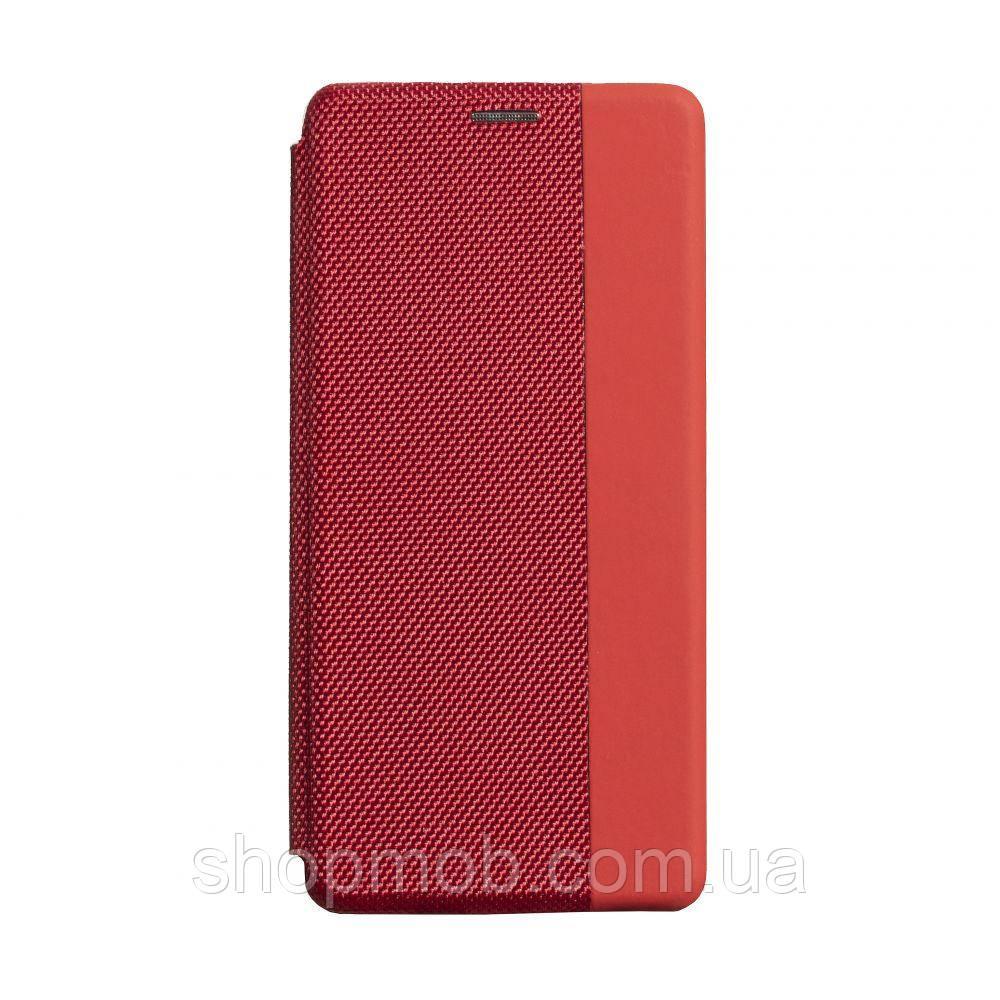 Чехол-книжка Strip color for Realme 5/6i Цвет Красный
