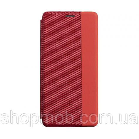 Чехол-книжка Strip color for Realme 5/6i Цвет Красный, фото 2