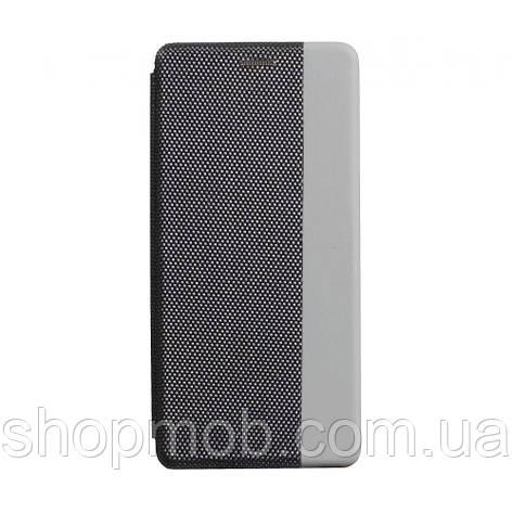 Чехол-книжка Strip color for Realme 5/6i Цвет Серый, фото 2