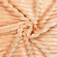 Чехол на кушетку плюшевый 220×80 см персиковый