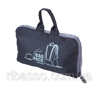"""Рюкзак складной """"BAGPACK"""", чёрный"""