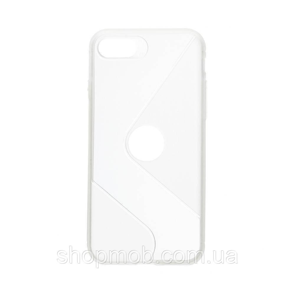 Чехол Totu Clear Wave for Apple Iphone 8/SE 2020 Цвет Белый