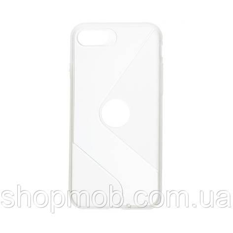 Чехол Totu Clear Wave for Apple Iphone 8/SE 2020 Цвет Белый, фото 2