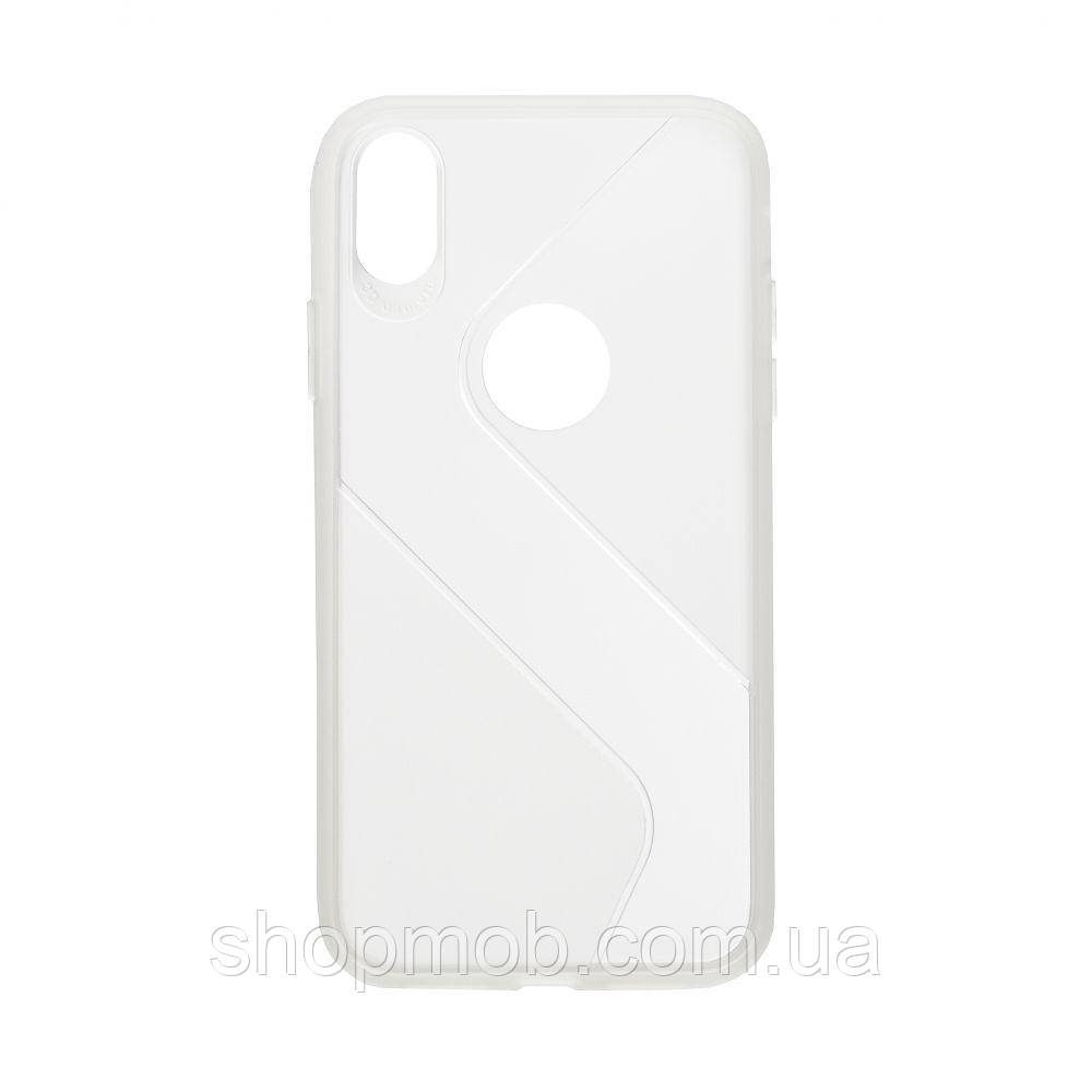 Чехол Totu Clear Wave for Apple Iphone Xr Цвет Белый