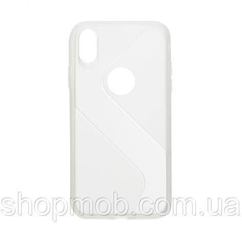Чехол Totu Clear Wave for Apple Iphone Xr Цвет Белый, фото 2