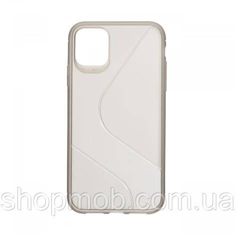 Чехол Totu Clear Wave for Apple Iphone 11 Цвет Чёрный, фото 2