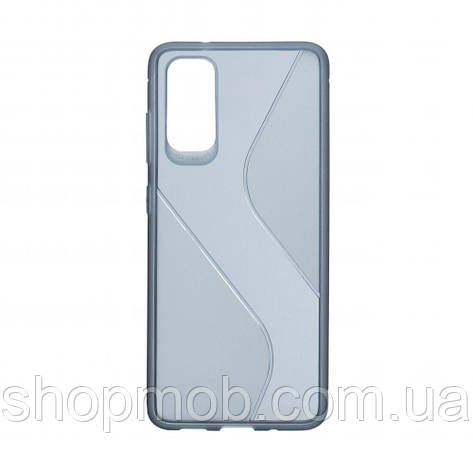 Чехол Totu Clear Wave for Samsung S20 Цвет Синий, фото 2