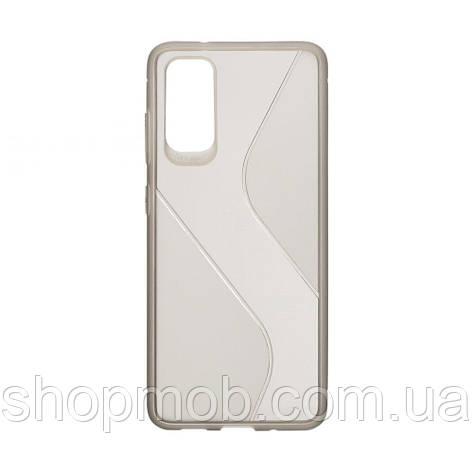 Чехол Totu Clear Wave for Samsung S20 Цвет Чёрный, фото 2