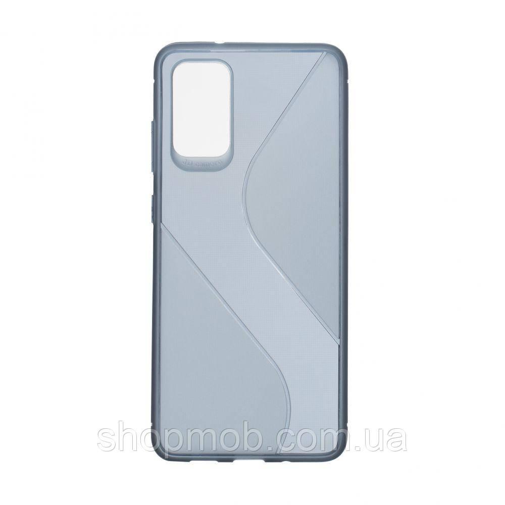 Чехол Totu Clear Wave for Samsung S20 Plus Цвет Синий