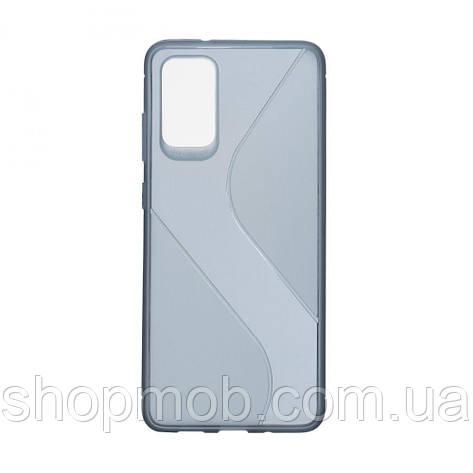 Чехол Totu Clear Wave for Samsung S20 Plus Цвет Синий, фото 2