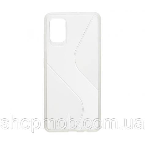 Чехол Totu Clear Wave for Samsung A51 Цвет Белый, фото 2