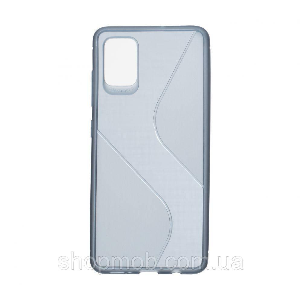Чехол Totu Clear Wave for Samsung A51 Цвет Синий