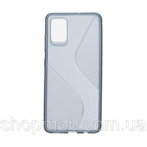 Чехол Totu Clear Wave for Samsung A51 Цвет Синий, фото 2
