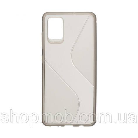 Чехол Totu Clear Wave for Samsung A51 Цвет Чёрный, фото 2