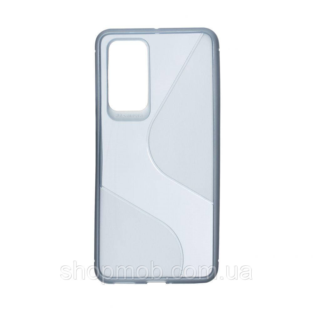 Чехол Totu Clear Wave for Huawei P40 Цвет Синий