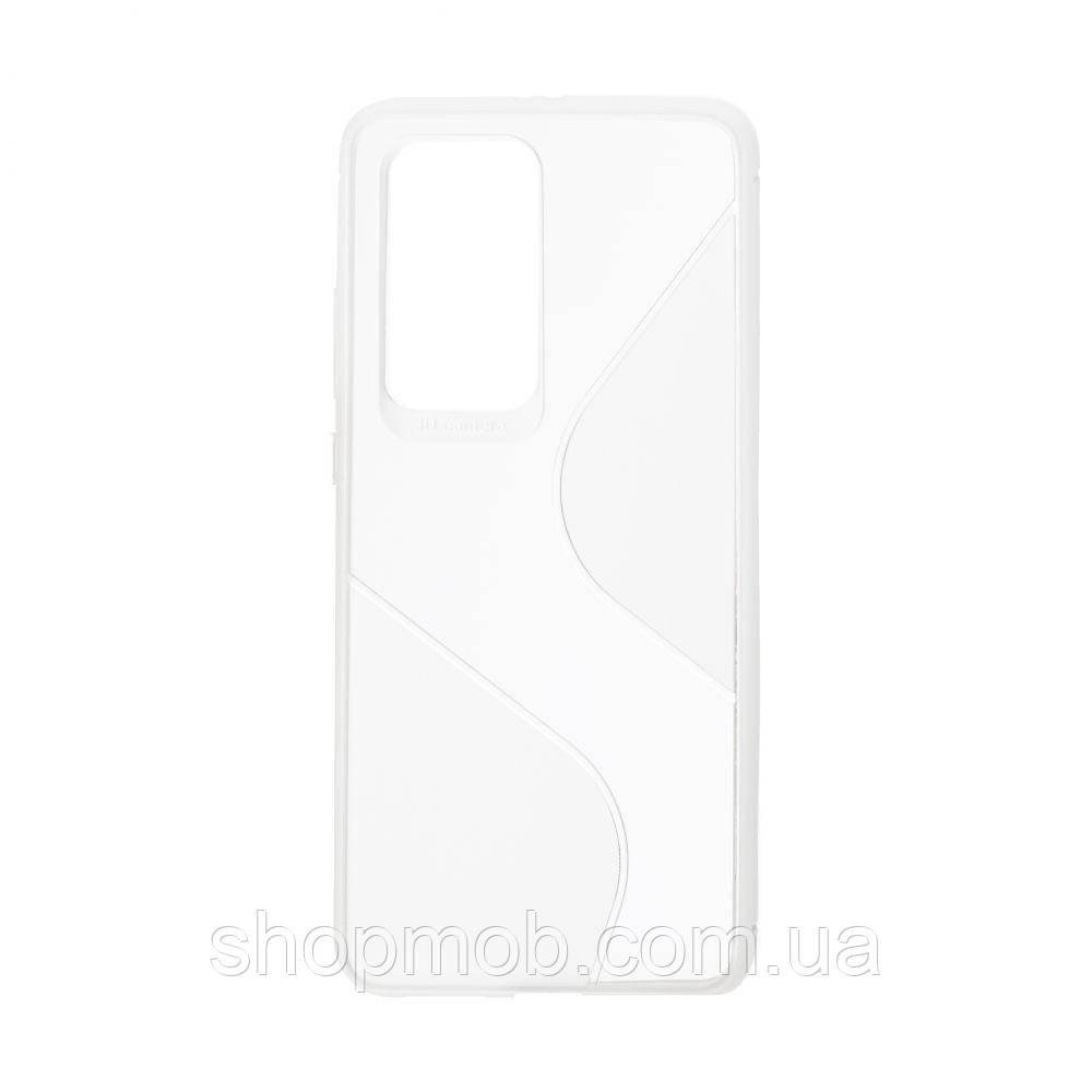 Чехол Totu Clear Wave for Huawei P40 Pro Цвет Белый