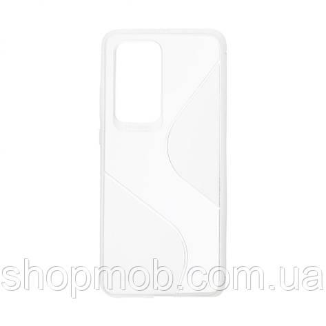 Чехол Totu Clear Wave for Huawei P40 Pro Цвет Белый, фото 2