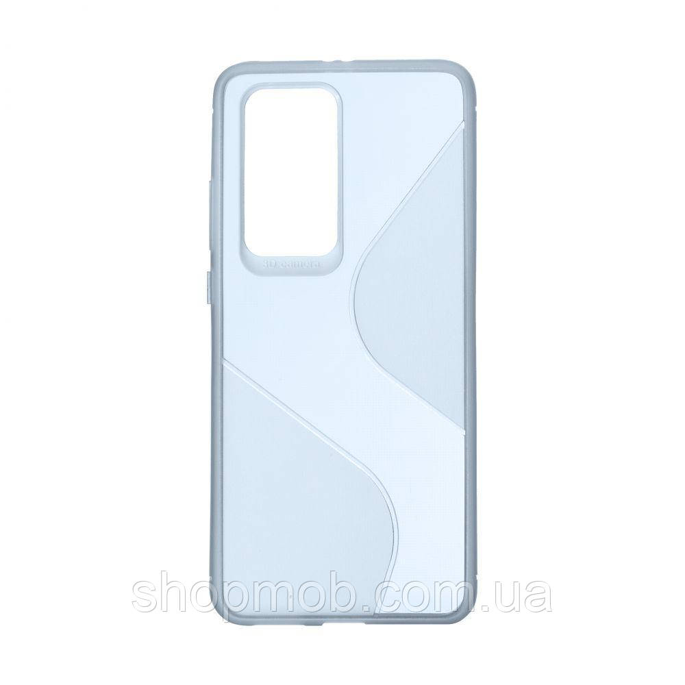Чехол Totu Clear Wave for Huawei P40 Pro Цвет Синий