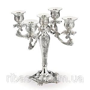 Канделябр на 5 свечей Barocco Candelabrum