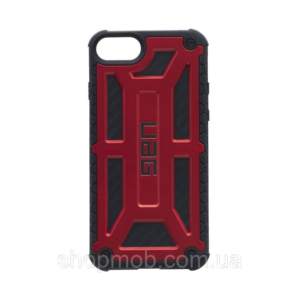Чохол UAG Monarch for Apple Iphone 8 Колір Червоний